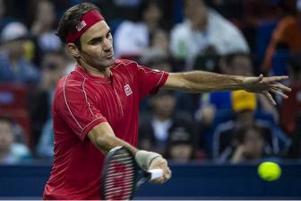 <b style='background-color:Yellow'>Federer</b> ra quan suon se tai Thuong Hai Masters 2019