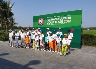 Truoc them SEA Games 30, Bao Long co chien thang thu hai tai FLC Hanoi Junior Golf Tour 2019