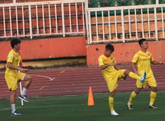 <b style='background-color:Yellow'>DT U23 Viet Nam</b> them ca chan thuong truoc them VCK U23 chau A