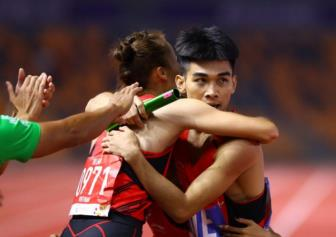 <b style='background-color:Yellow'>Viet Nam</b> gianh duoc 46 HCV tai SEA Games 30