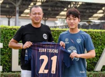 <b style='background-color:Yellow'>Luong Xuan Truong</b> mang ao so 21 o CLB Buriram United