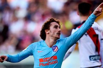 <b style='background-color:Yellow'>Griezmann</b> lot top 5 chan sut vi dai nhat Atletico Madrid