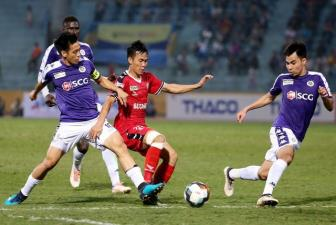 Vong 1 <b style='background-color:Yellow'>V.League 2019</b>: Ha Noi FC khang dinh suc manh?