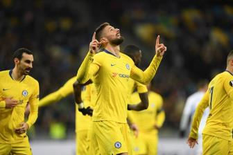 Dynamo Kiev 0-5 Chelsea: Show dien cua <b style='background-color:Yellow'>Oliver Giroud</b>