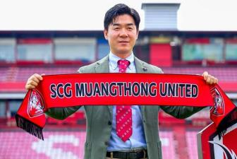 Tan HLV <b style='background-color:Yellow'>Muangthong United</b> quyet cung cac hoc tro vo dich Thai League 2019