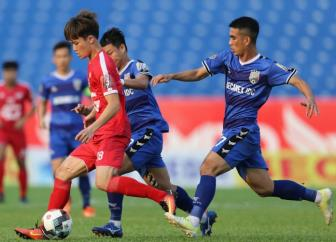 """Truoc vong 5 <b style='background-color:Yellow'>V.League 2019</b>: Cuoc chien cua """"nhung nguoi cung kho"""""""