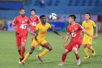 <b style='background-color:Yellow'>Viettel</b> thang sat nut Nam Dinh o vong 5 V.League 2019