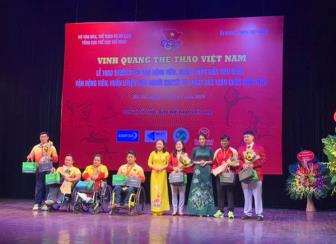 "Dong trung ha thao Thien Phuc: Dong hanh cung ""Vinh quang <b style='background-color:Yellow'>the thao Viet Nam</b> 2018"""