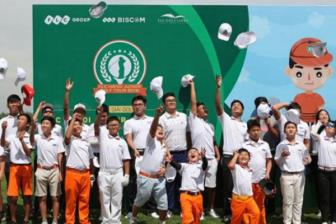Khai mac giai Golf FLC Ha Noi Junior Golf tuor 2019  lan thu 2