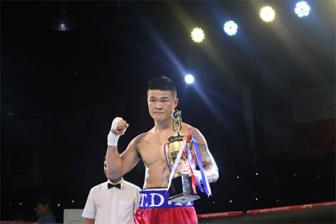 Truong Dinh Hoang <b style='background-color:Yellow'>knock-out</b> vo si Thai Lan o giai WBA chau A