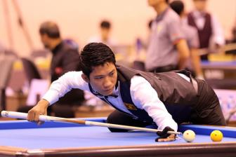 <b style='background-color:Yellow'>Ngo Dinh Nai</b> dung buoc truoc 'thien tai' billiards the gioi