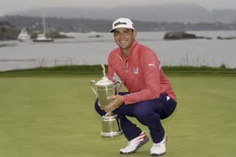 Woodland vo dich US Open 2019