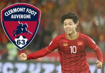 <b style='background-color:Yellow'>CLB Clermont Foot</b> 63 cua Phap xac nhan Cong Phuong sang thu viec
