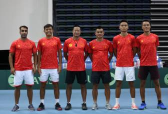 <b style='background-color:Yellow'>DT quan vot Viet Nam</b> la hat giong so 1 bang A giai Davis Cup Nhom III