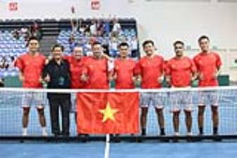 <b style='background-color:Yellow'>DT Quan vot Viet Nam</b> vo dich Davis Cup nhom III - 2019
