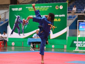 Giai <b style='background-color:Yellow'>Vovinam</b> hoc sinh toan quoc lan thu III nam 2019 - Cup Nestle Milo: Phong trao Vovinam hoc duong ngay cang manh me