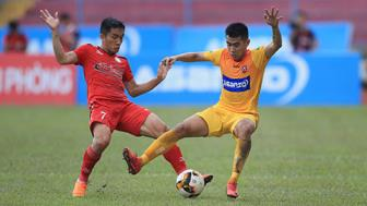 <b style='background-color:Yellow'>Hai Phong</b> vs TPHCM, 17h00 ngay 3/7: Cuc dien kho luong