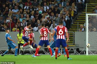 <b style='background-color:Yellow'>Atletico Madrid</b> 2-1 Juventus: Joao Felix che mo Ronaldo