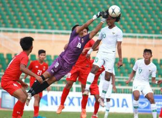 U18 Indonesia cung U18 Myanmar doat ve vao ban ket <b style='background-color:Yellow'>giai U18 DNA</b>