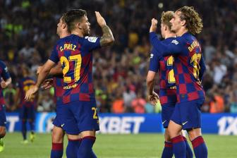 <b style='background-color:Yellow'>Barcelona</b> 5-2 Betis: Hon ca 1 chien thang