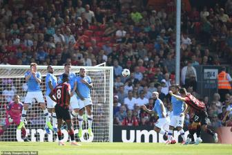 <b style='background-color:Yellow'>Bournemouth</b> 1-3 Man City: Phong cach vo dich
