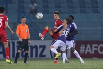 <b style='background-color:Yellow'>Ha Noi FC</b> gianh ve vao ban ket lien khu vuc tai AFC Cup 2019