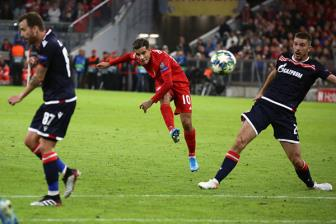 <b style='background-color:Yellow'>Bayern</b> - Cologne: 'No sung' thoi, Coutinho!