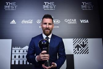 <b style='background-color:Yellow'>FIFA</b> The Best 2019: Lan dau cho Lionel Messi!