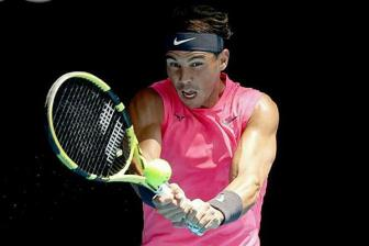 <b style='background-color:Yellow'>Nadal</b> vao vong bon Australia Mo rong