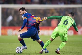 <b style='background-color:Yellow'>Barca</b> 5-0 Leganes: Show dien thuong hang cua Messi