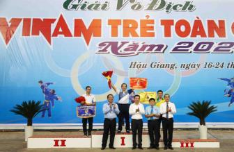 <b style='background-color:Yellow'>TPHCM</b> Bao ve thanh cong ngoi dau Giai vo dich tre Vovinam toan quoc 2020