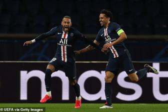 <b style='background-color:Yellow'>PSG</b> 2-0 Dortmund: Non not!