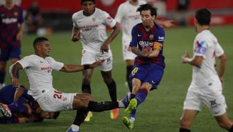 <b style='background-color:Yellow'>Sevilla</b> 0-0 Barcelona: Nguy to!