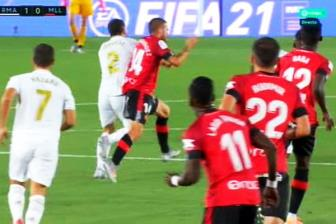 <b style='background-color:Yellow'>Real Madrid</b> 2-0 Mallorca: Tranh cai
