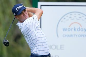 Justin Thomas doat dinh bang Workday Charity Open