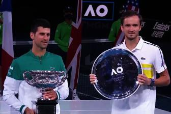 <b style='background-color:Yellow'>Djokovic</b> vo dich Australia Mo rong 2021