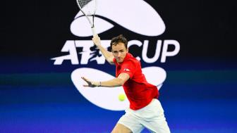 <b style='background-color:Yellow'>Video</b> tennis Medvedev - Nishikori: Chien qua xuat sac, som am ve ban ket (ATP Cup)