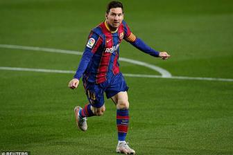 <b style='background-color:Yellow'>Barcelona</b> 5-2 Getafe: Show dien cua Messi