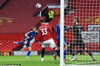 <b style='background-color:Yellow'>M.U</b> 1-2 Leicester: Luc bat tong tam