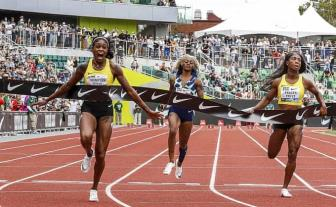 Ba hoang toc do Jamaica suyt pha ky luc chay 100m