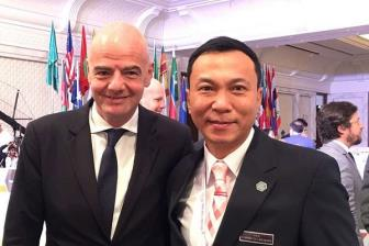 <b style='background-color:Yellow'>VFF</b> kien nghi FIFA va AFC ve cong tac trong tai