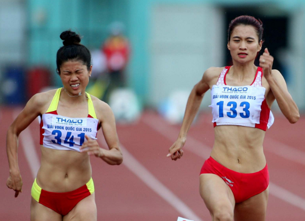 Nguyen Thi Oanh thong tri noi dung 400m giai dien kinh vo dich quoc gia hinh anh