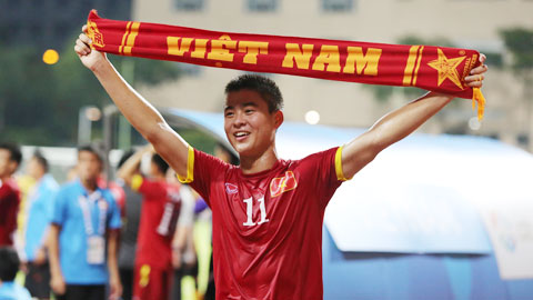 Tien ve U23 cua Viet Nam duoc tap chi Four Four Two vinh danh hinh anh