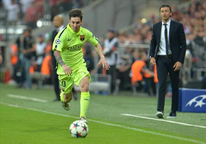 <b style='background-color:Yellow'>Barcelona</b> đối mặt nguy cơ mất Lionel Messi