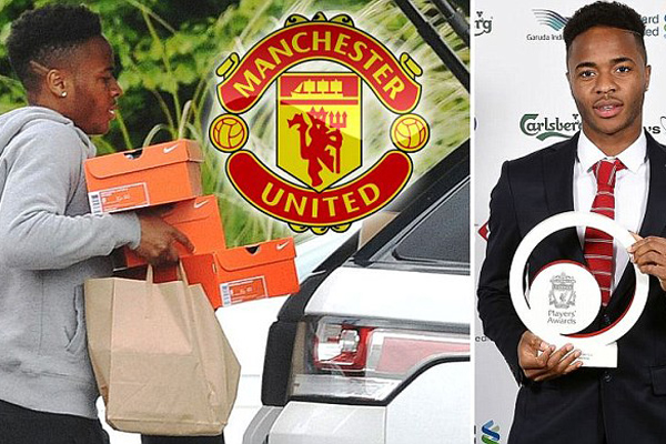 <b style='background-color:Yellow'>Liverpool</b> quyết không bán Sterling cho Man United
