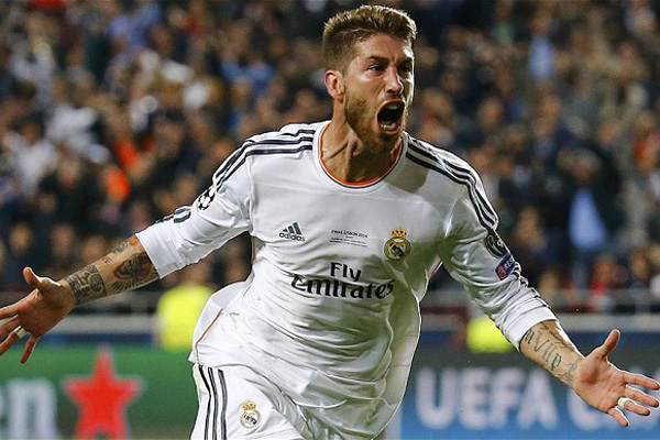 <b style='background-color:Yellow'>Real Madrid</b> lại thắng Man United vụ Ramos