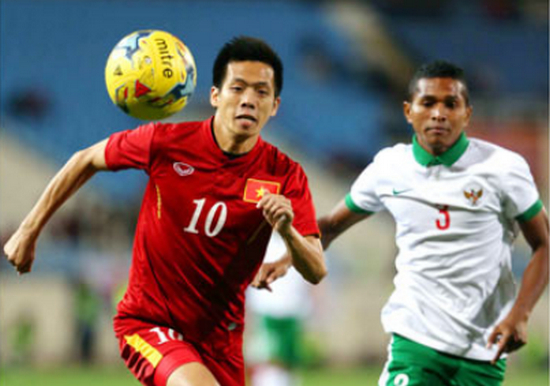 Indonesia vs Viet Nam Dung vung trong chao lua hinh anh