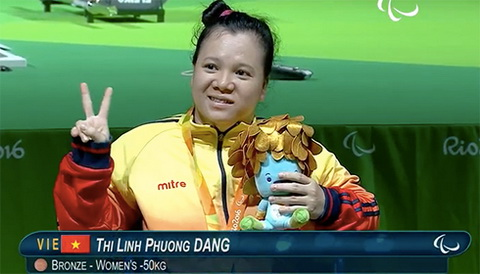 Viet Nam doat them 1 HCD Paralympic 2016 hinh anh
