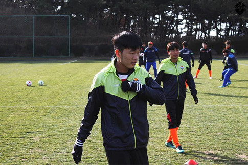 Gangwon FC tiet lo nhung thong tin moi nhat ve Xuan Truong hinh anh