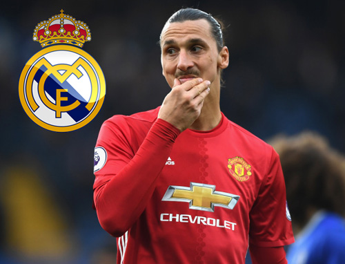 <b style='background-color:Yellow'>Real Madrid</b> khiến Ibrahimovic bẽ mặt